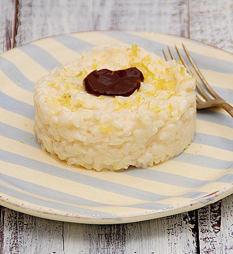 risotto con acciughe limone cacao peperoncino