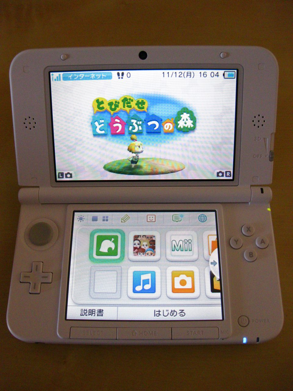 Pack Nintendo 3ds xl Animal Crossing New Leaf New Leaf Nintendo 3ds xl