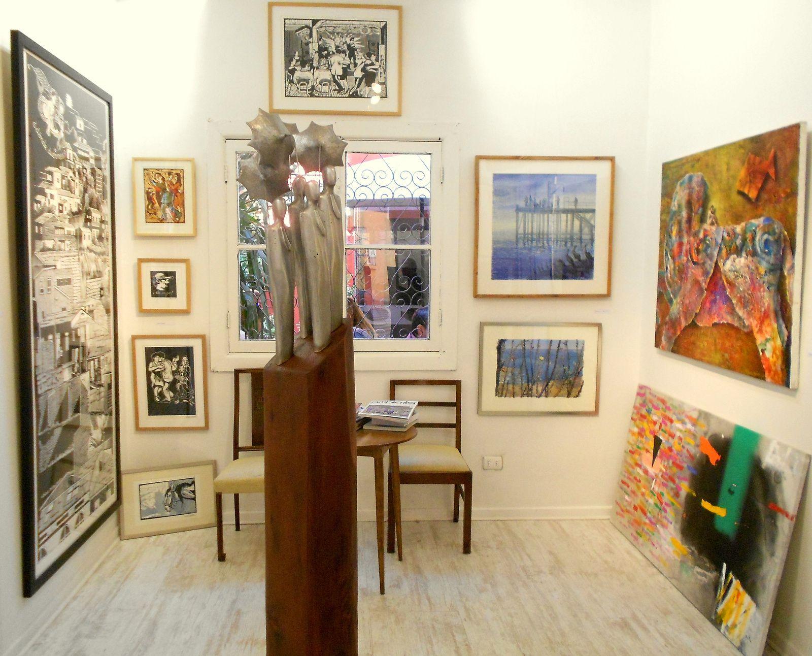 (autre) Salle d'exposición de l'Espacio BUGA à Santiago