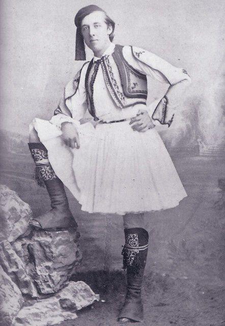 Oscar Wilde à la grecque.