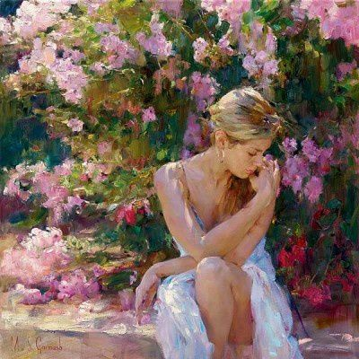 dipinto di  - Michael Garmash -