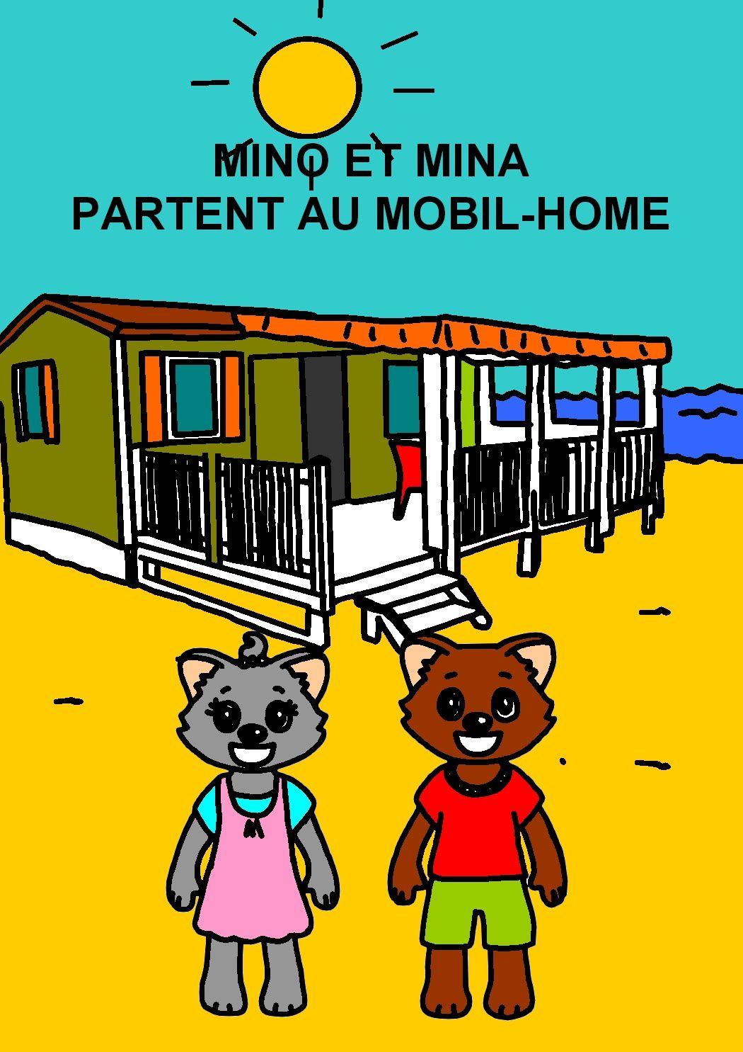 Livre Mino et Mina partent en vacances