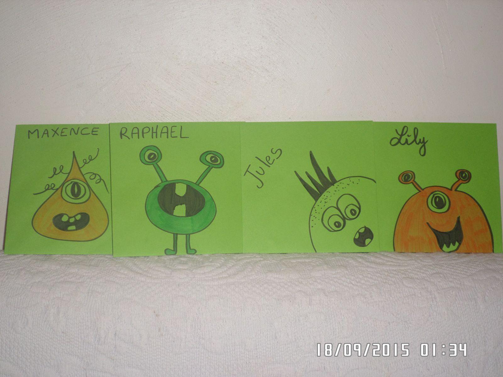 Les enveloppes pour les cartons d'invitations