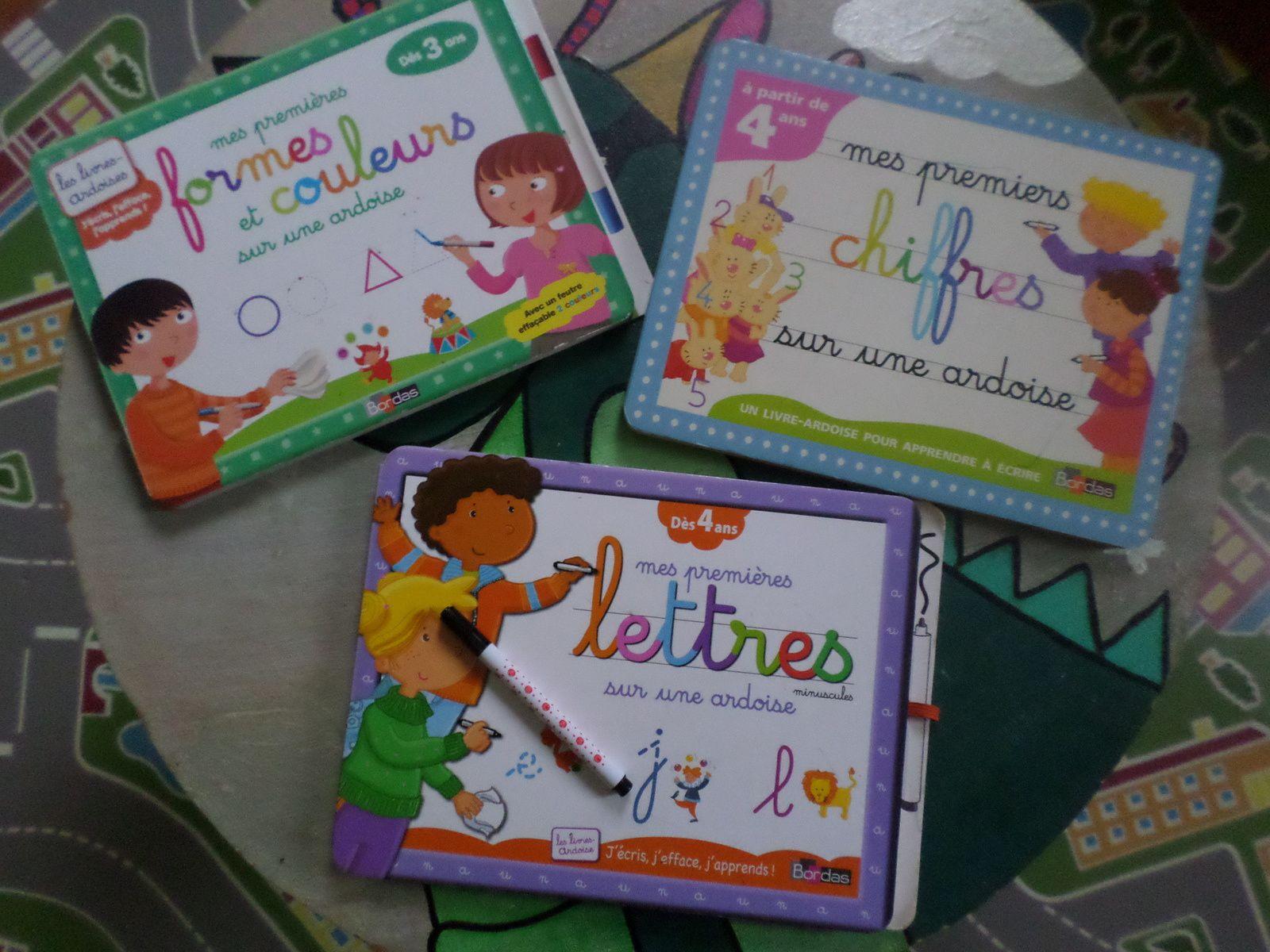 [Chut les enfants lisent #20 ]livres ardoises éducatifs