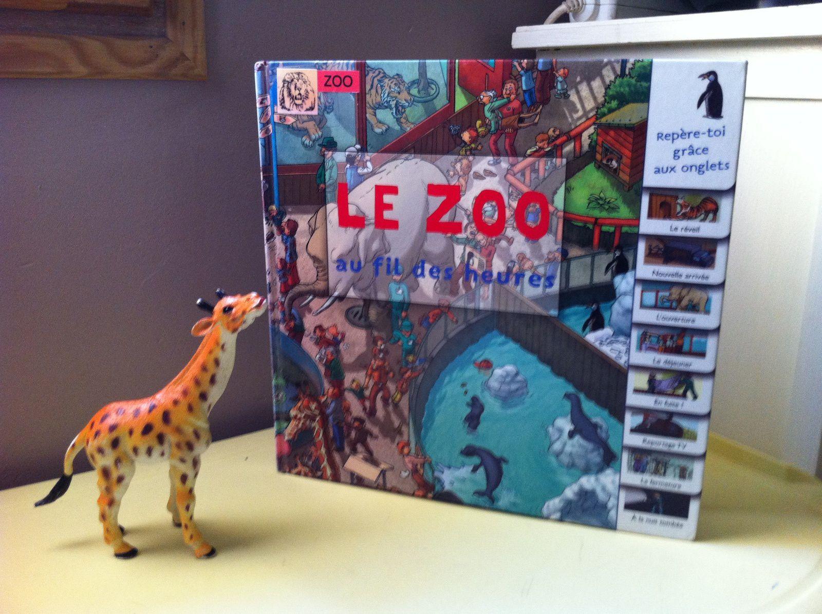 [Chut les enfants lisent #35 ]Le zoo au fil des heures