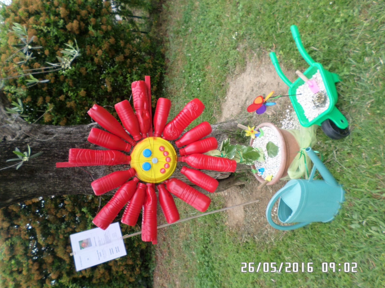 Marguerite se recycle