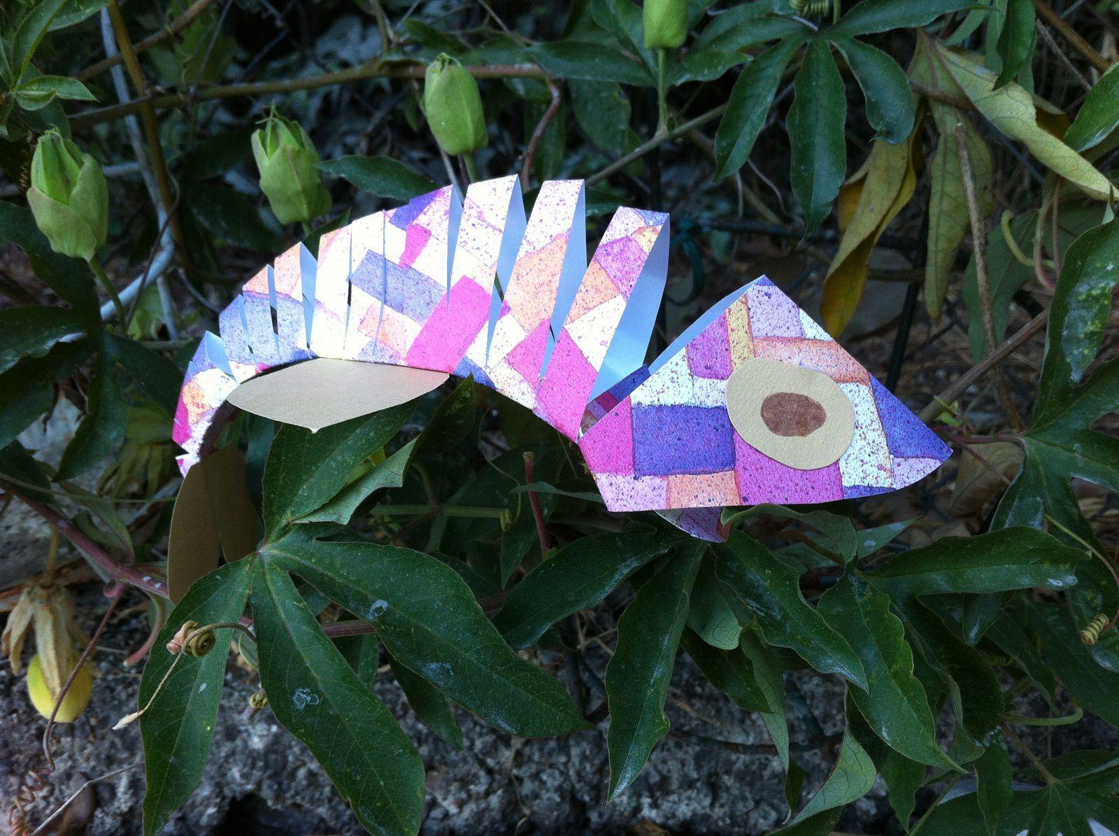 Atelier d'enfants : Drôle de poissons