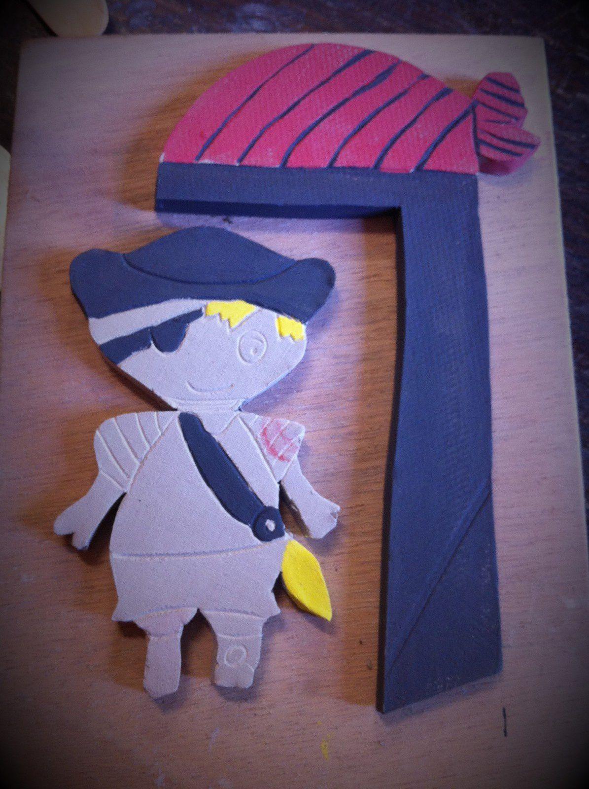Le mardi c'est poterie - mon pirate de 7 ans