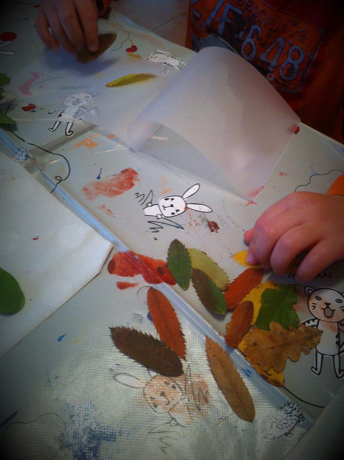 Atelier du mercredi - escargots d'automne