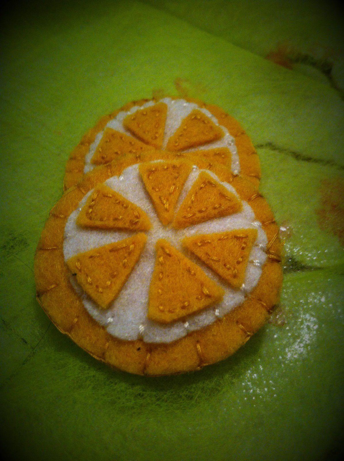 Dinette feutrine : les rondelles de citron
