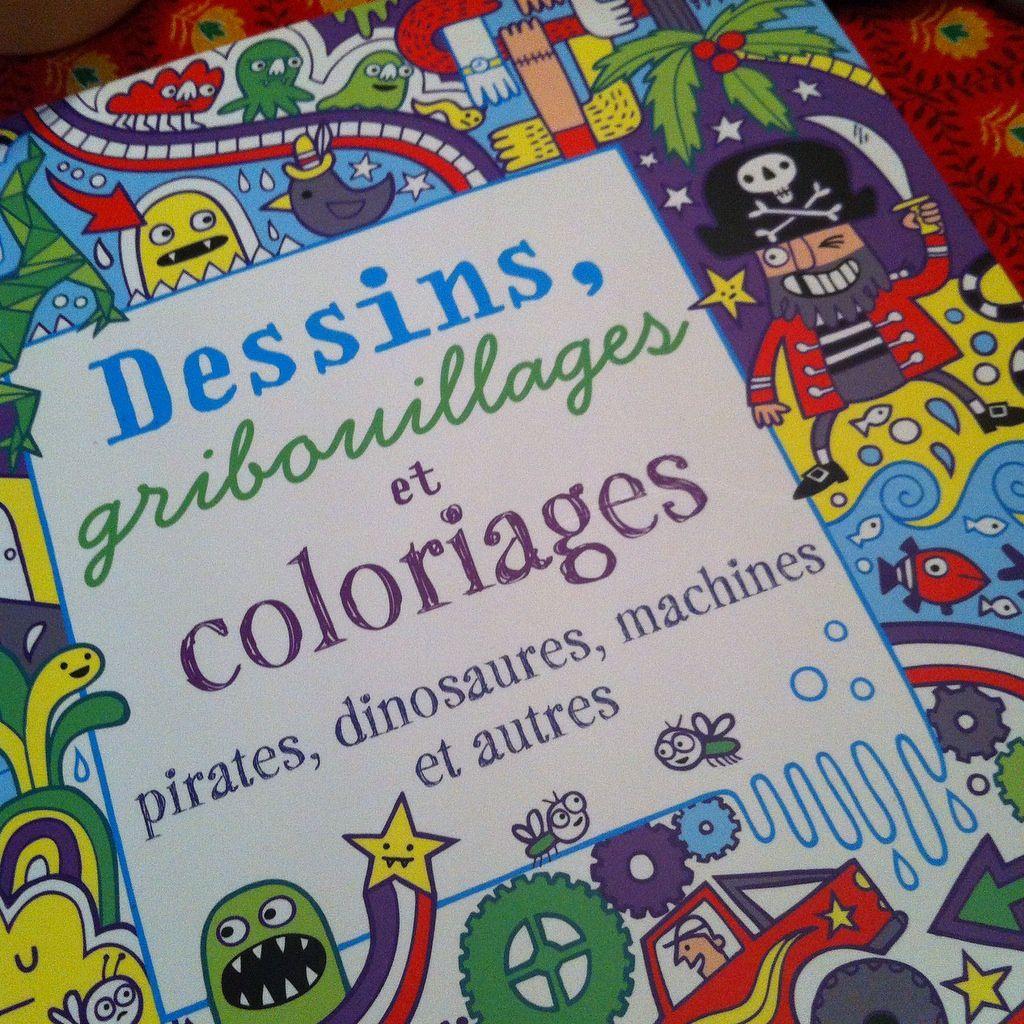 Chut les enfants lisent #87 - Dessins gribouilages et coloriages pirates, dinosaures, machines et autres