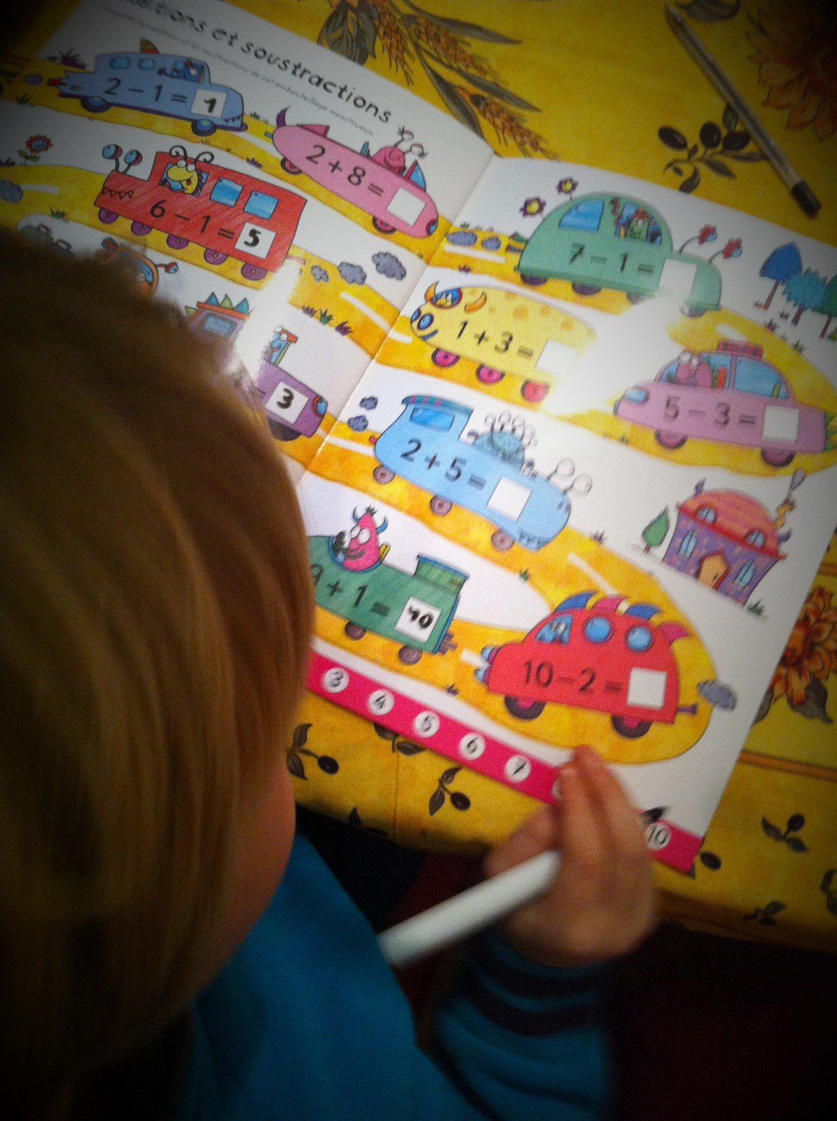 Chut les enfants lisent #95 Je trace, j'efface Addition-soustraction