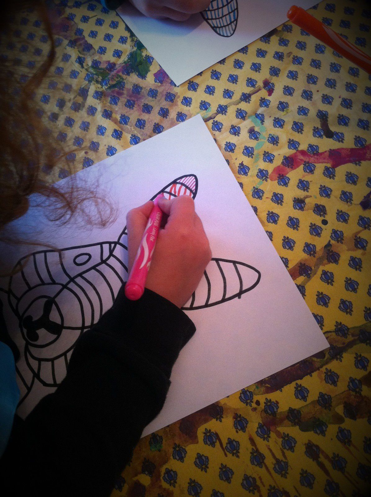 Atelier du mercredi : notre lapin graphisme