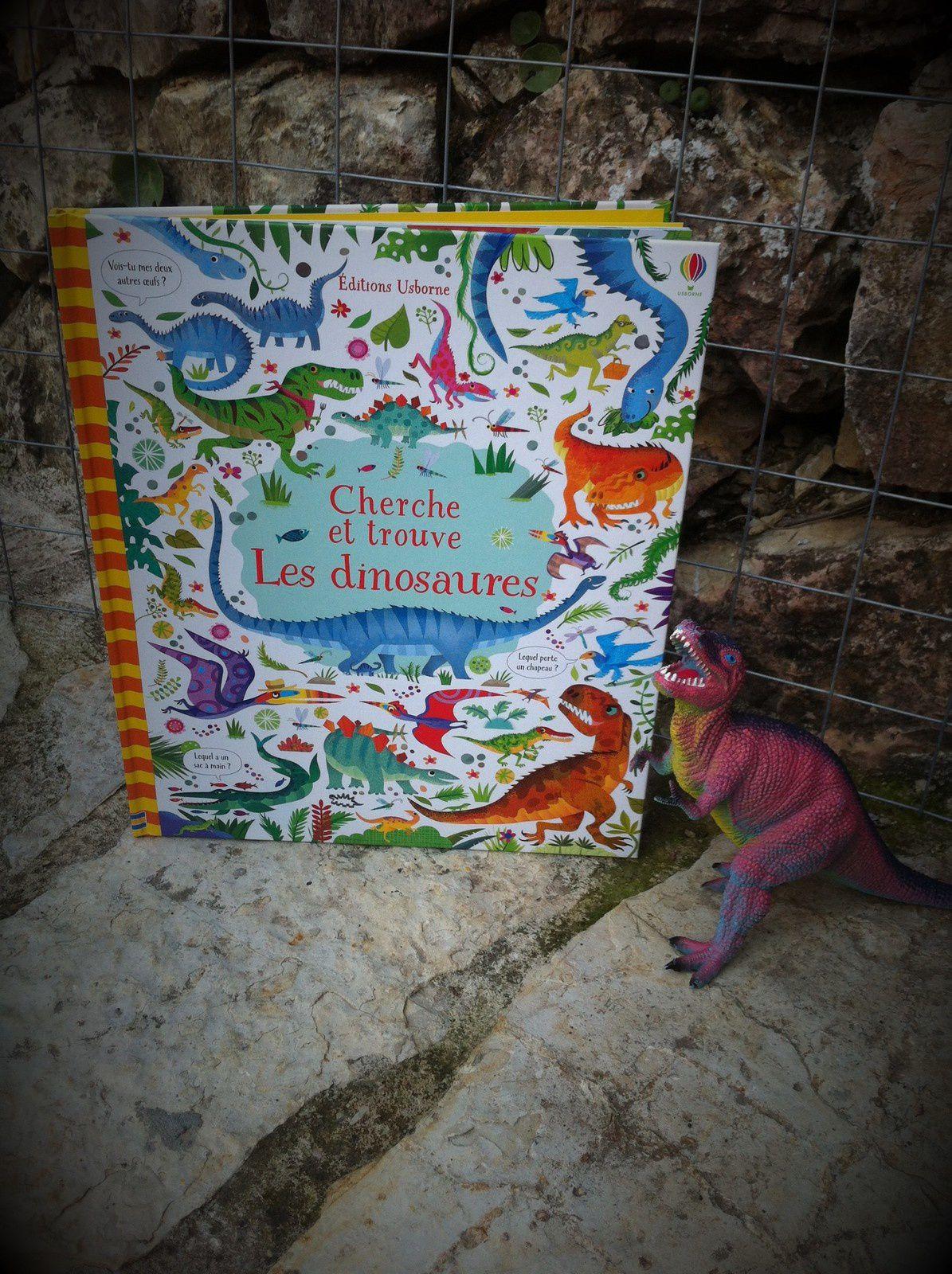 Chut les enfants lisent #103 -  Cherche et trouve Les Dinosaures