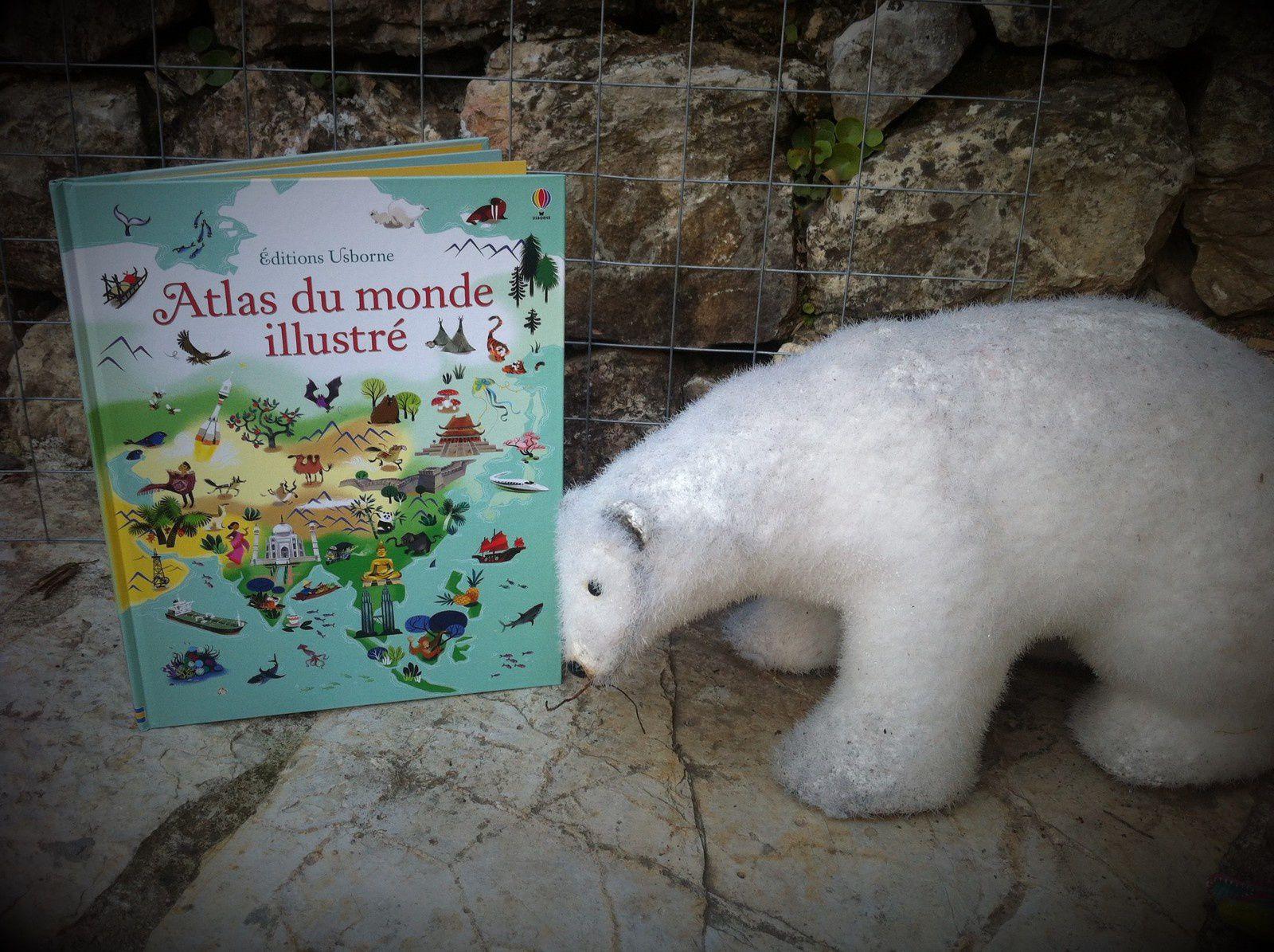 Chut les enfants lisent #106 : Atlas du monde illustré