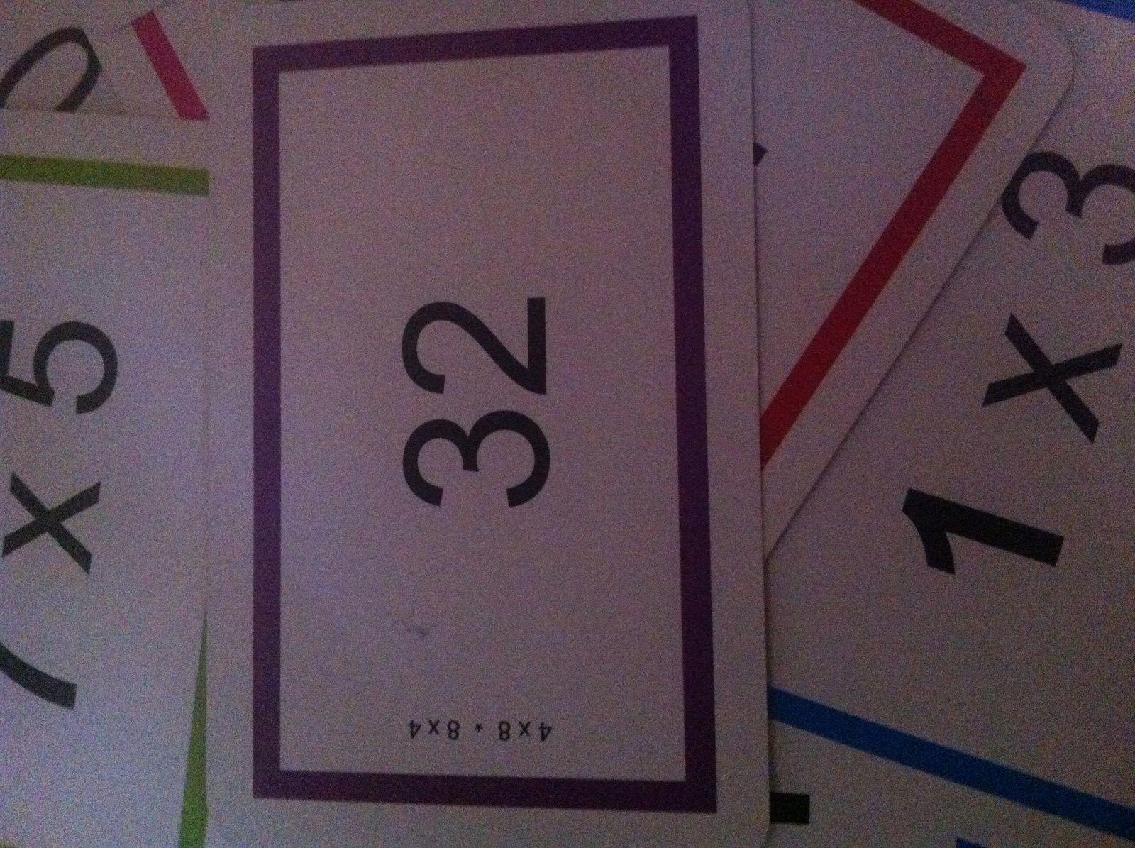 Ludothèque : apprendre ses tables de multiplications par le jeu