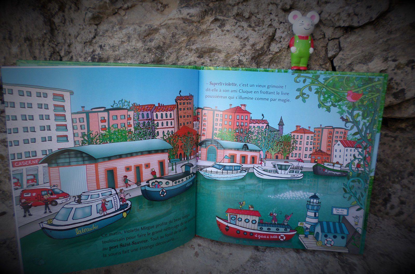 Chut les enfants lisent #121 : Une aventure de Violette Mirgue Le trésor du canal du Midi