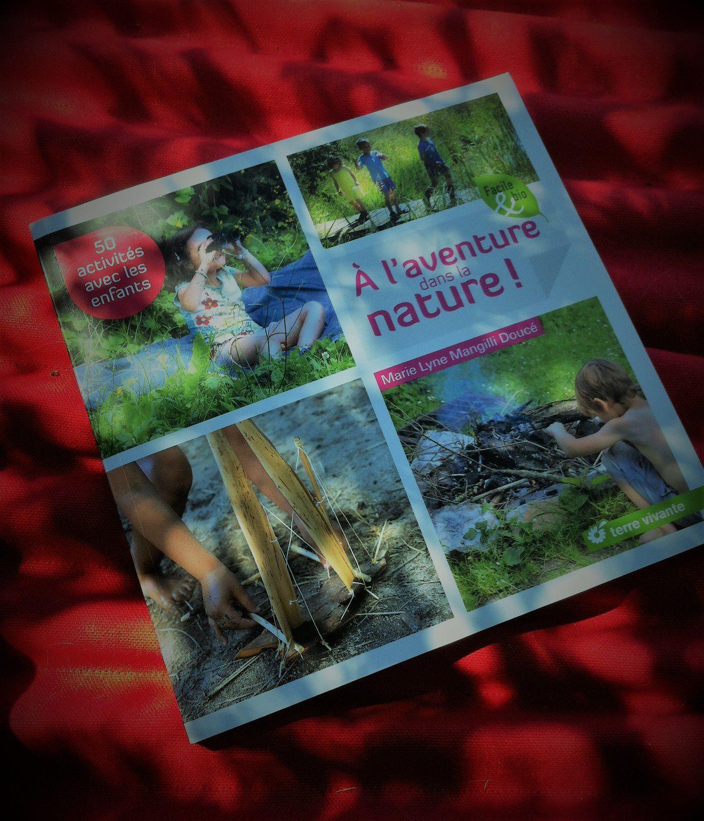 Livre : A l'aventure dans la nature chez Terre Vivante