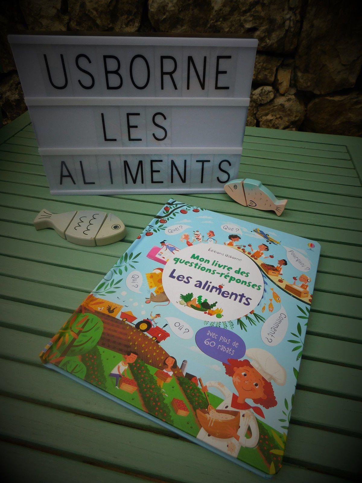 Chut les enfants lisent #122 : Les aliments de chez Usborne