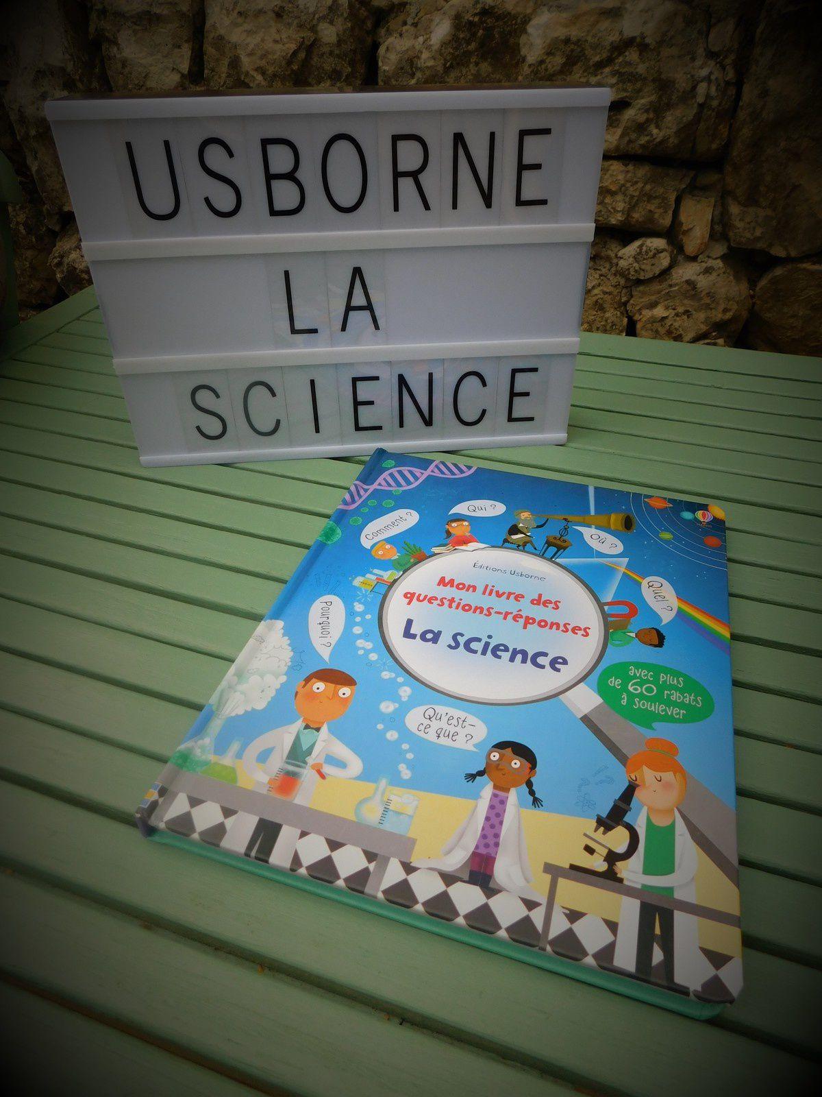 Chut les enfants lisent #124 : La science de chez Usborne