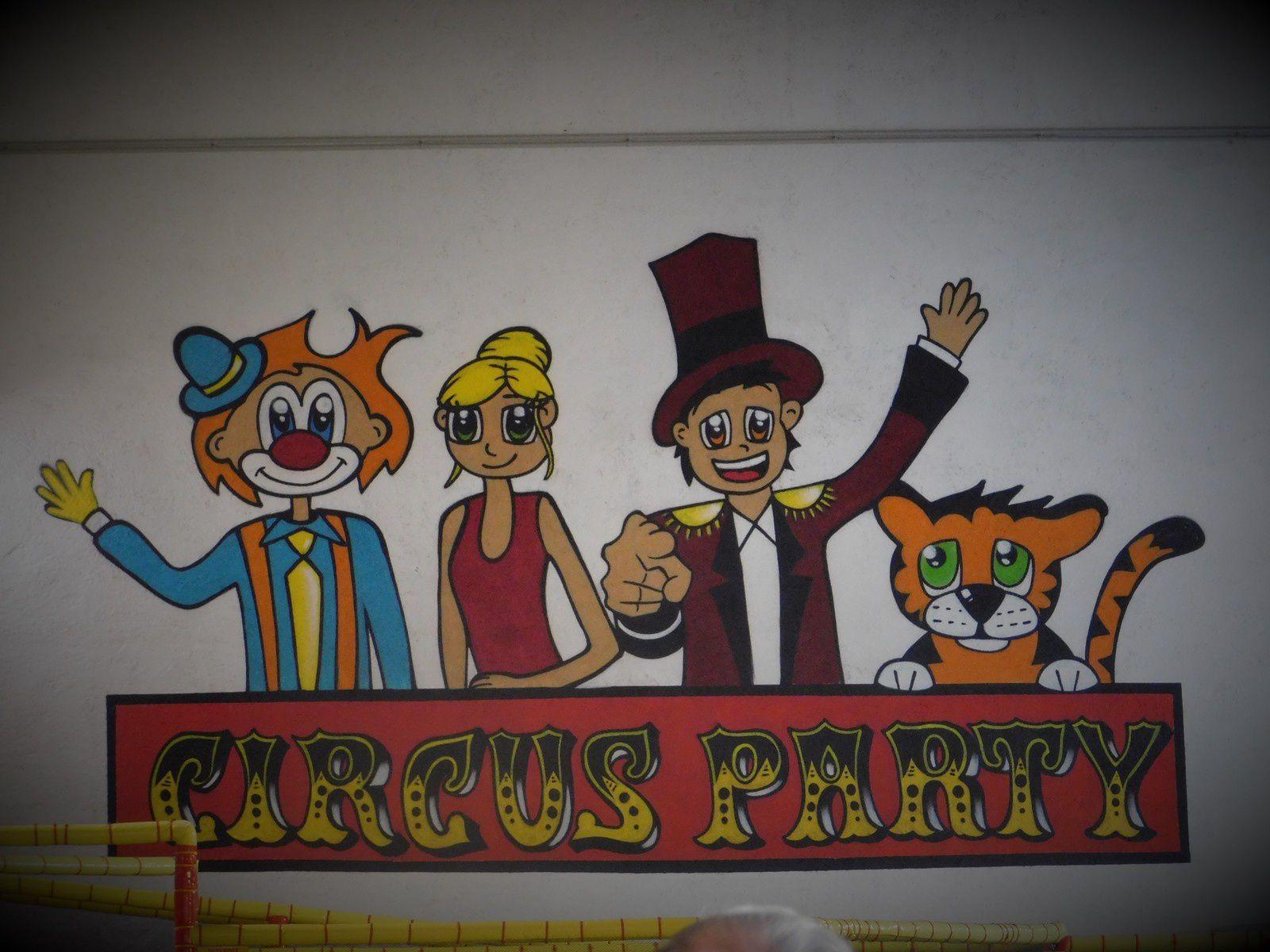 Sortie sympa : CIRCUS PARTY à Mougins