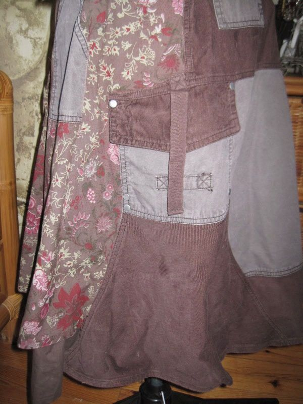 Deux jupes et un pull pour une robe