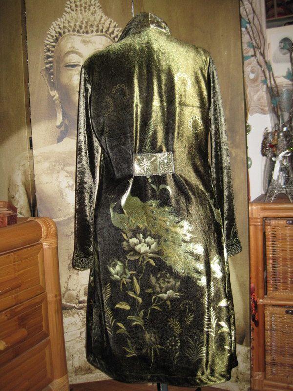 Une veste taillée dans une robe