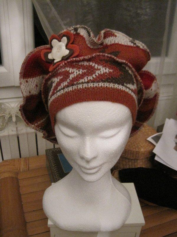 Un bonnet pour ma jolie rousse !
