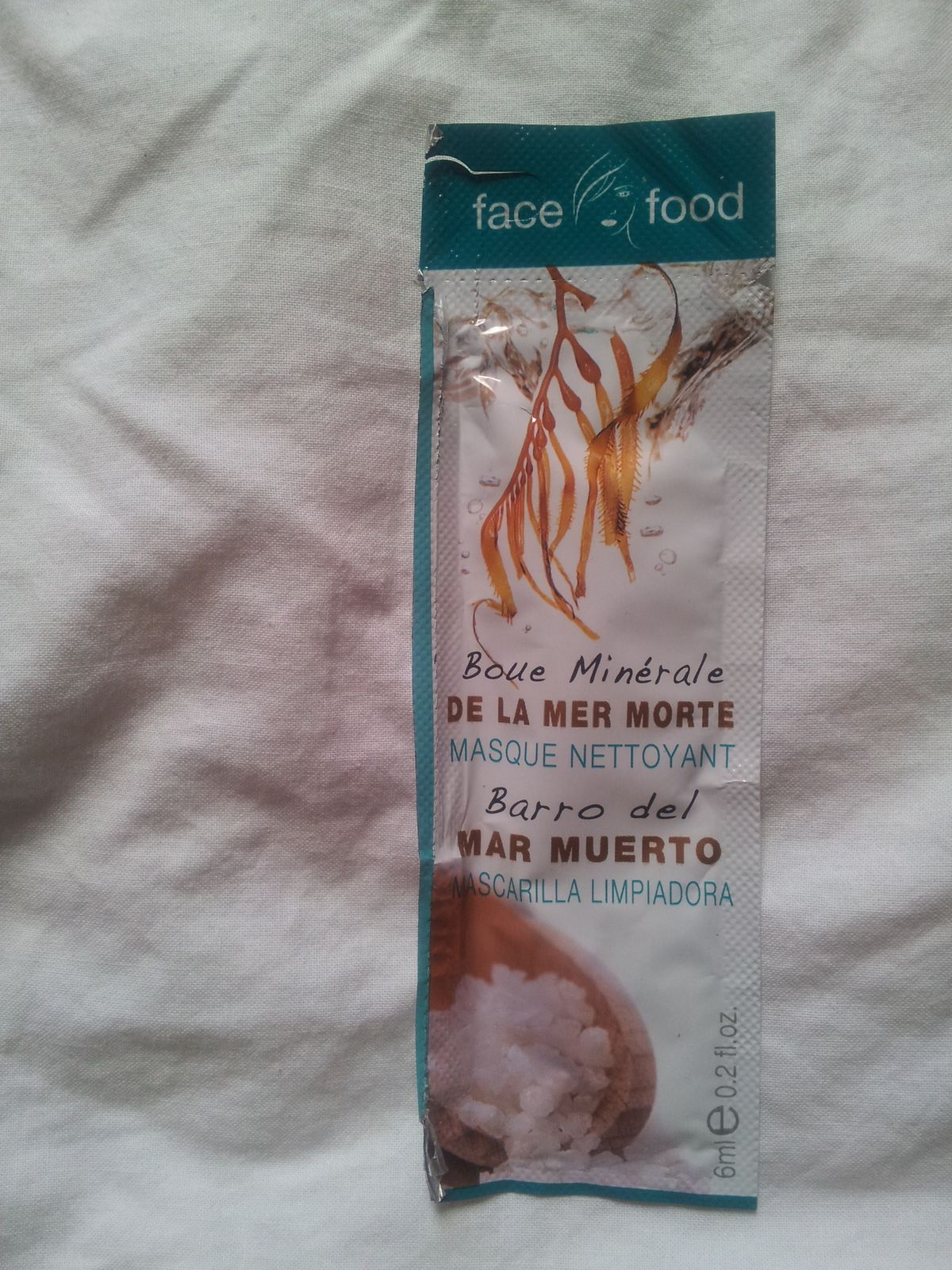 Masque nettoyant Face Food