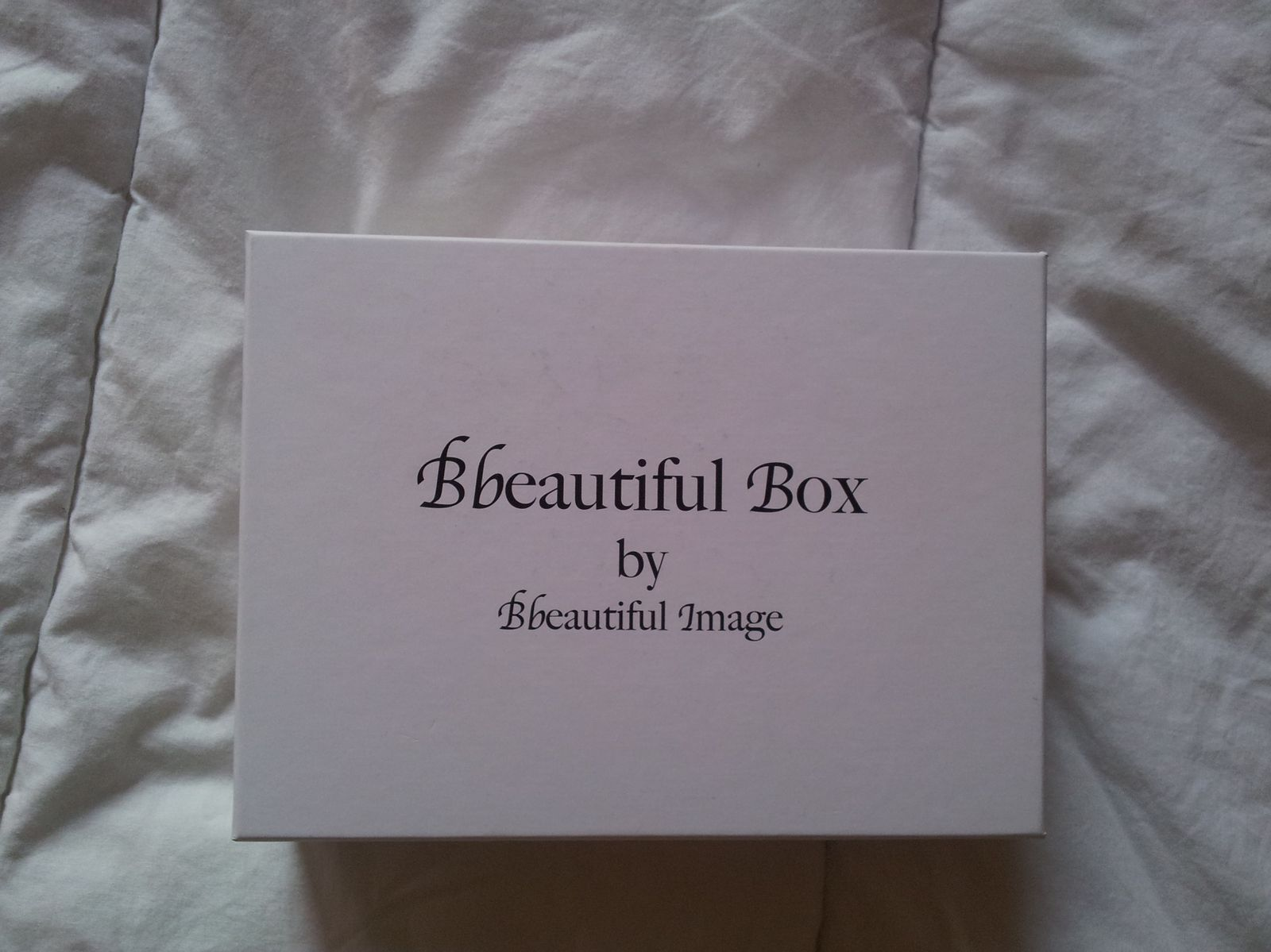 Bbeautiful Box septembre 2013