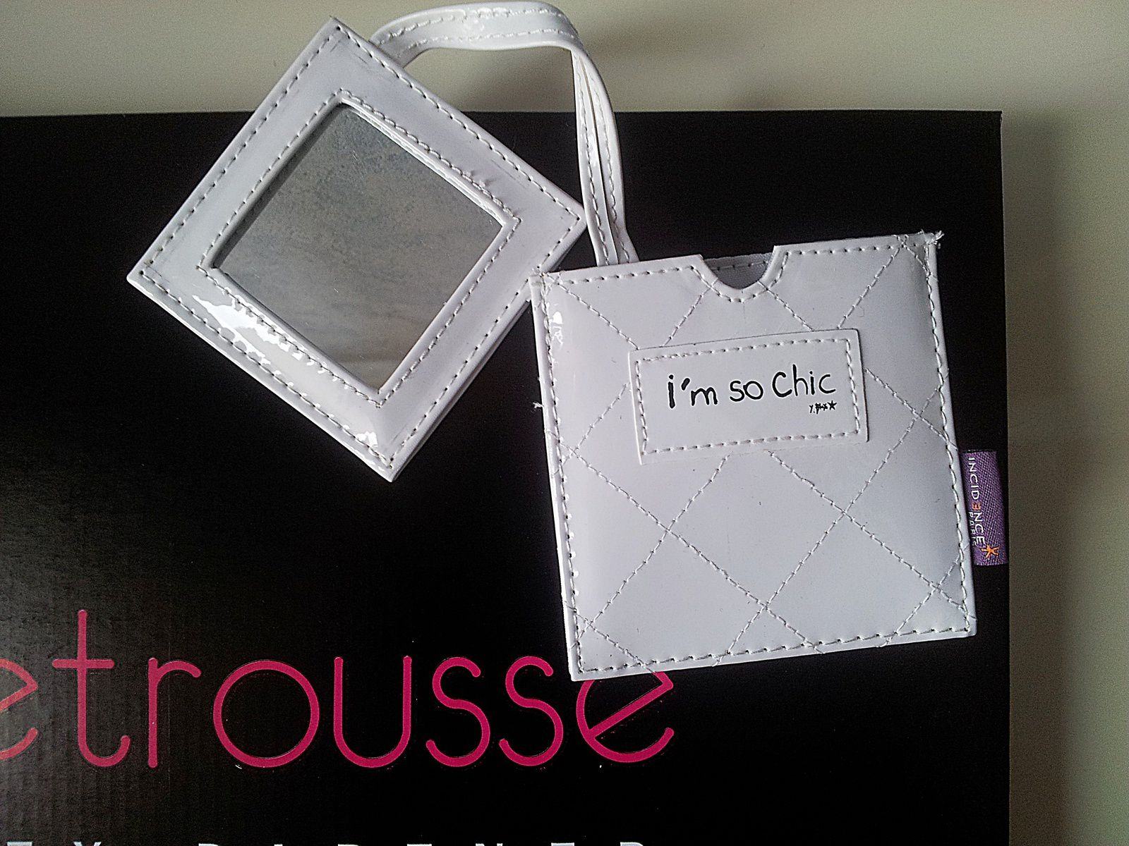 Miroir de poche I'm So Chic by Incidence