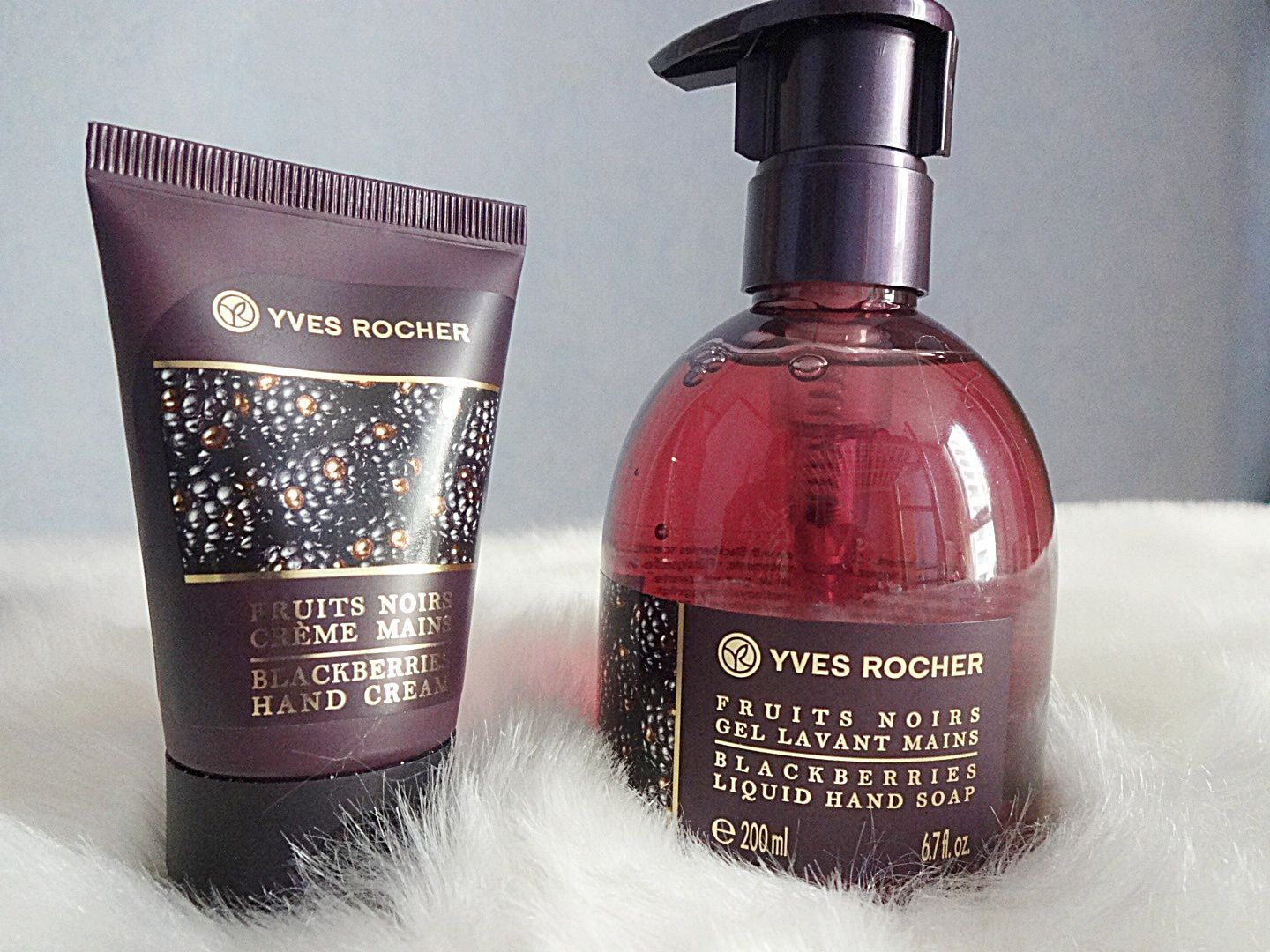 Gamme Fruits Noirs Yves Rocher