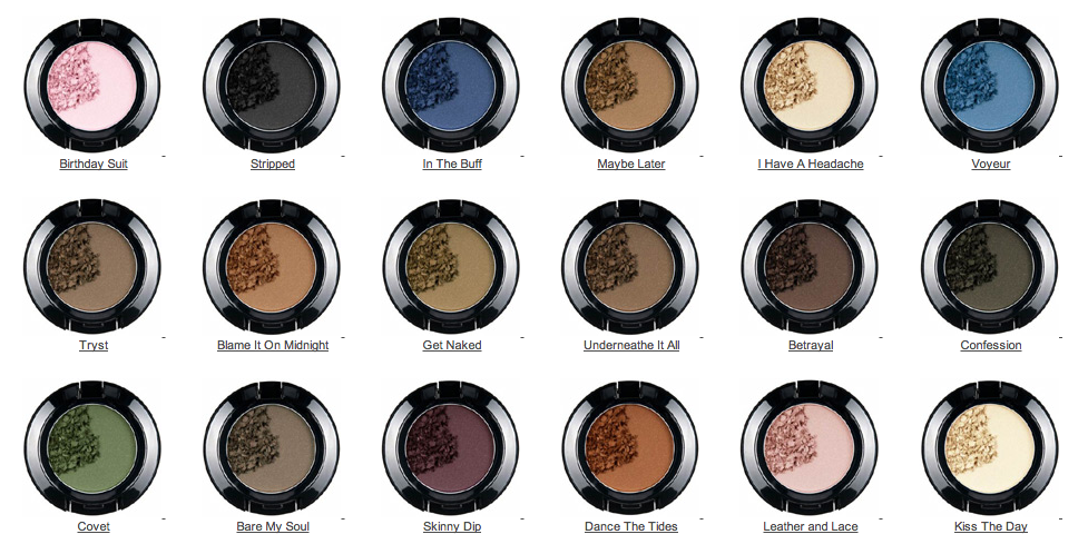 Les fards Nude Matte signés NYXCosmetics