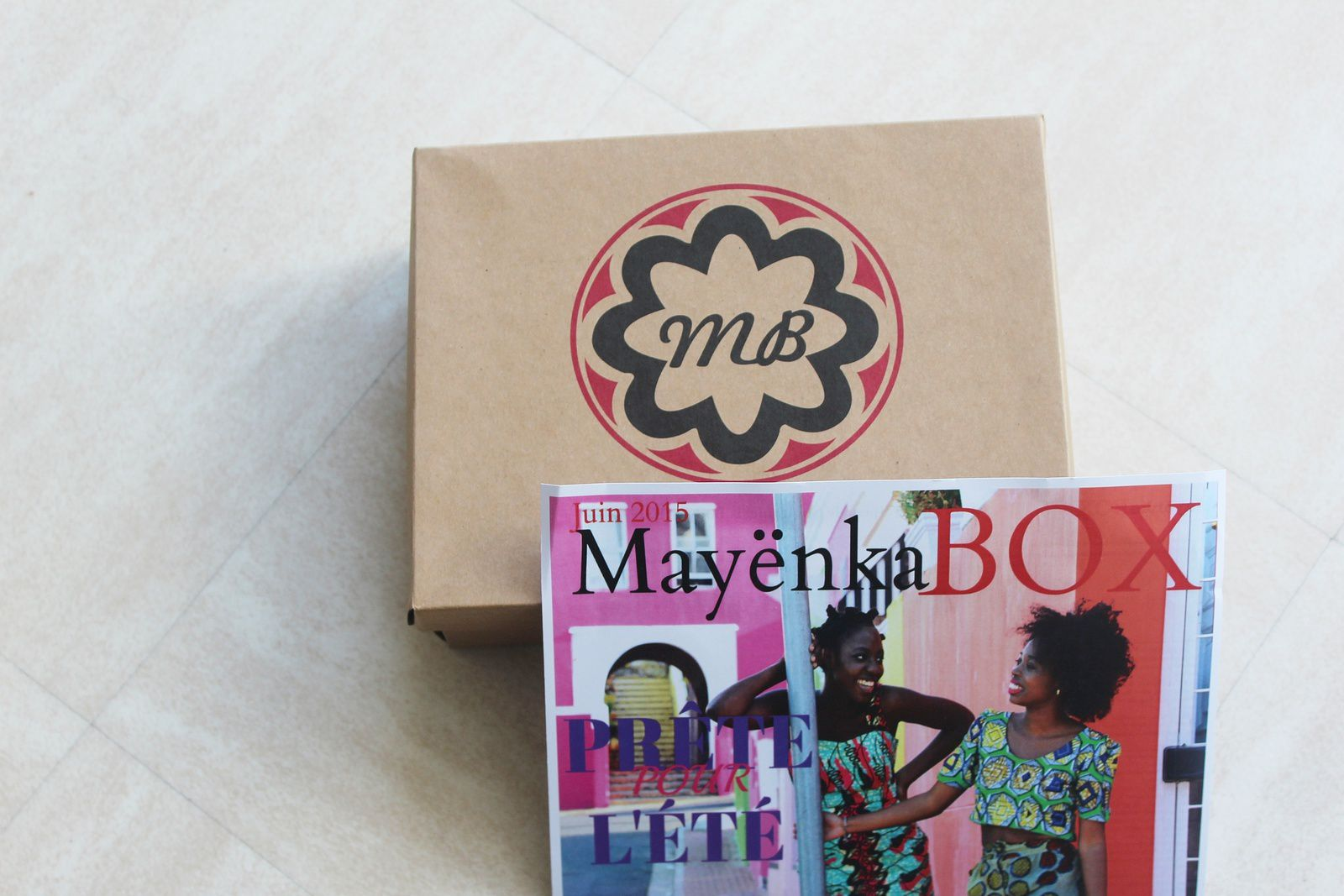 La Mayenkabox du mois de juin version Katissbox