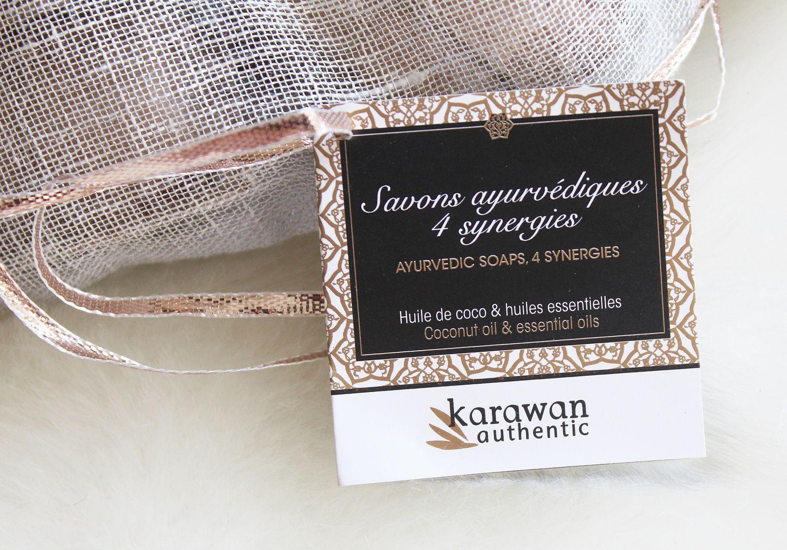 Coup de cœur pour les savons ayurvédiques Karawan