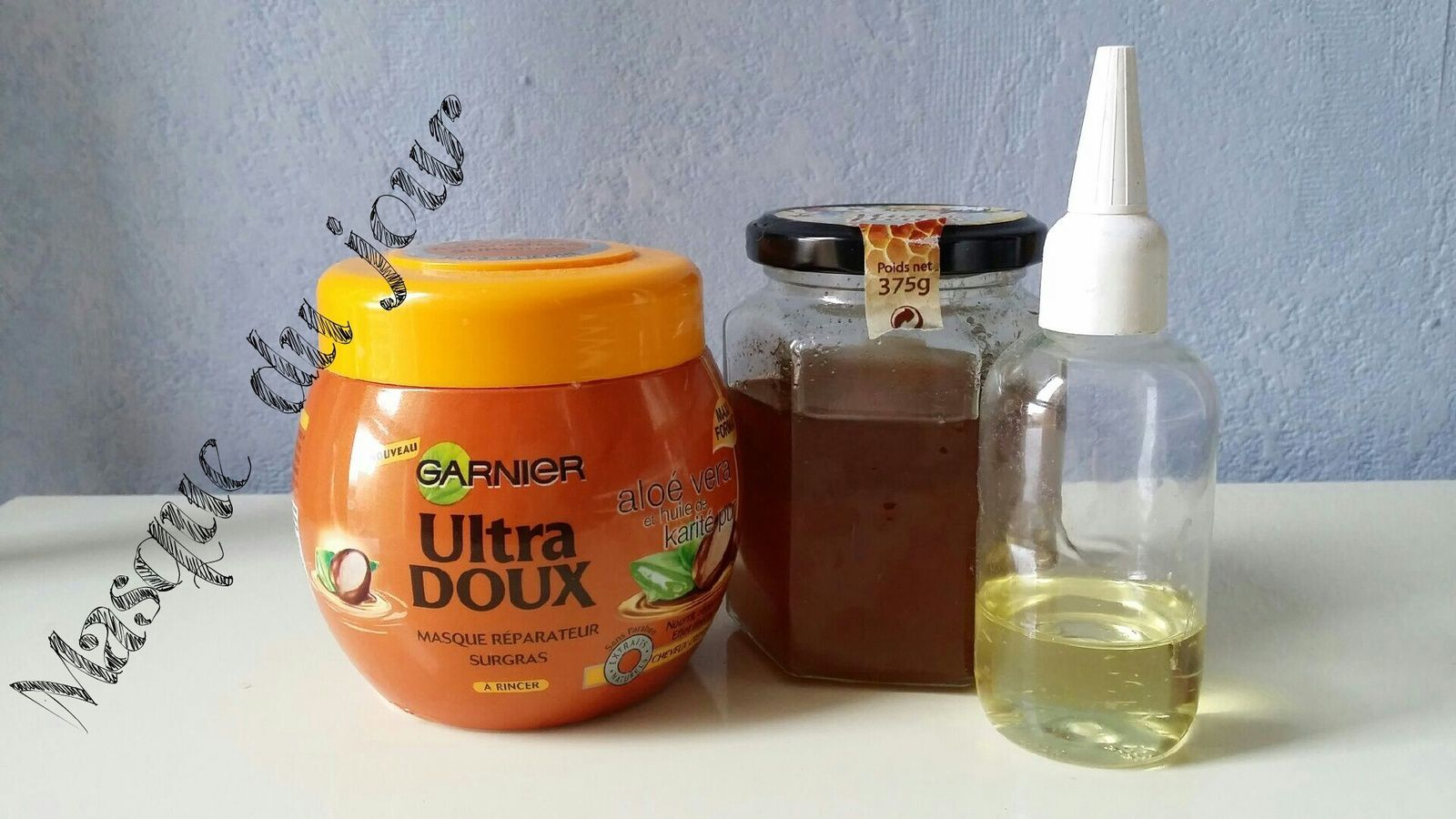 Masque cheveux ultra hydratant