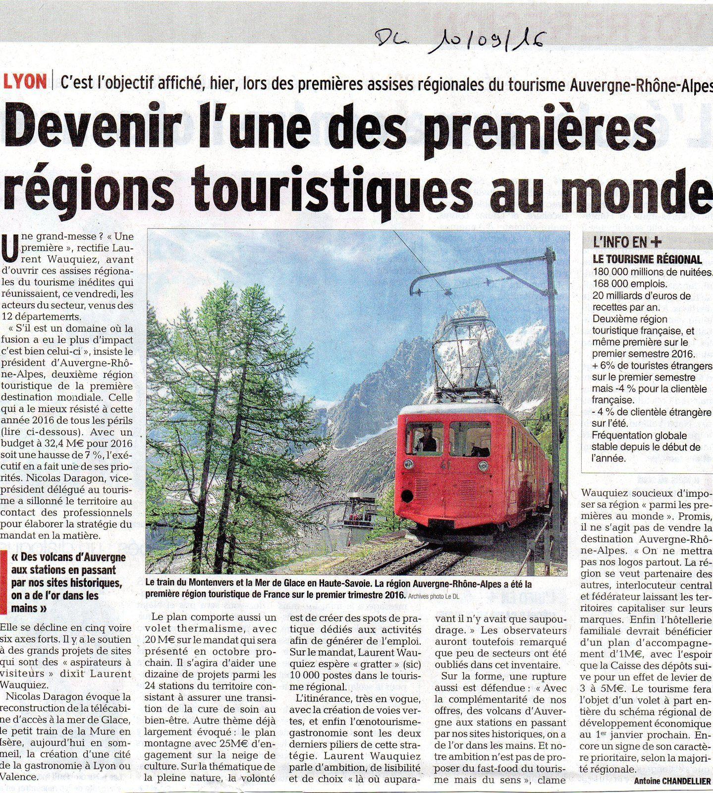 Train du Montenvers 800 000 passagers à l'année