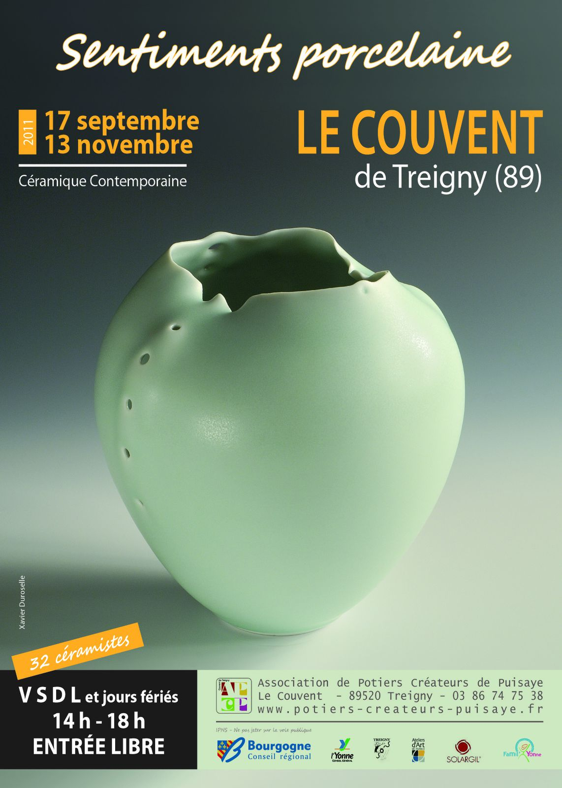 2011, exposition automne