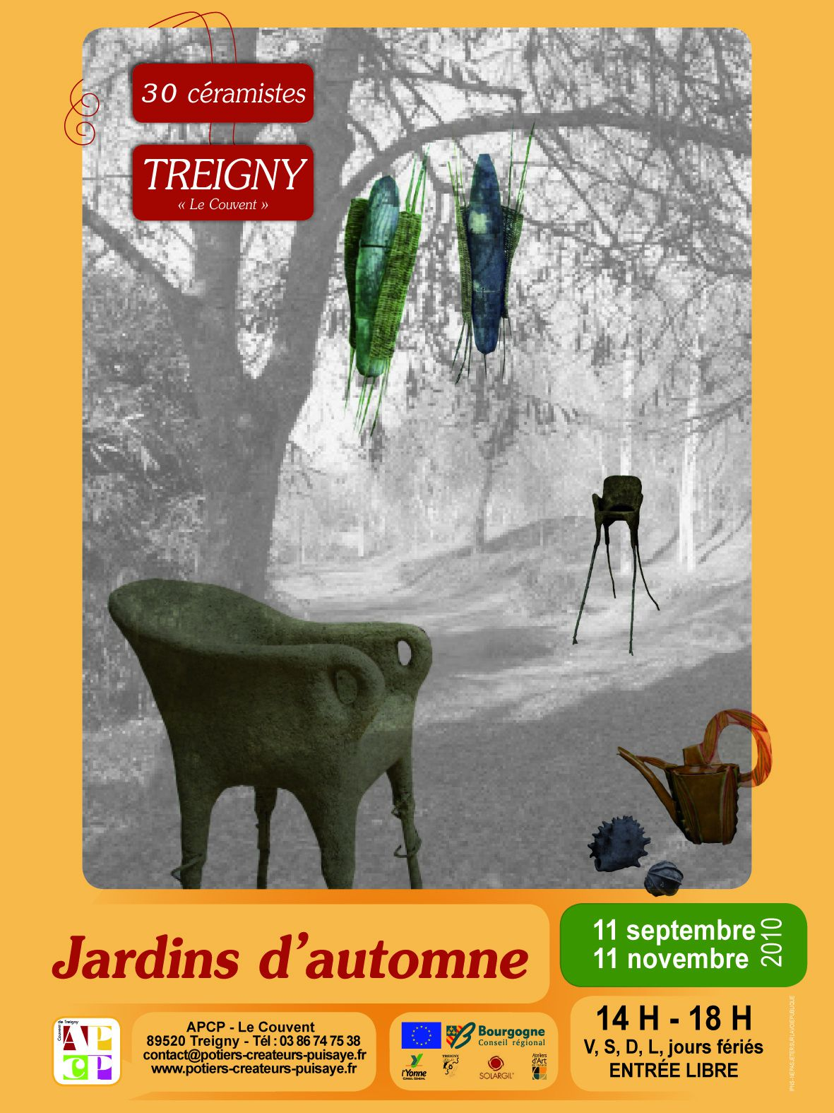 2010, exposition automne