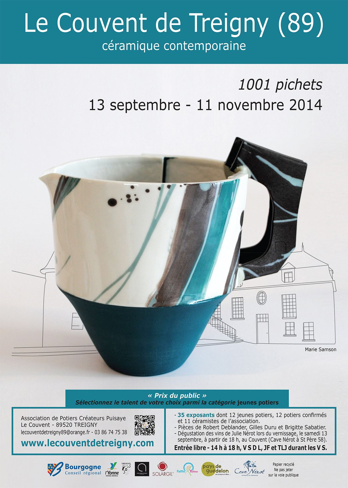2014, exposition automne