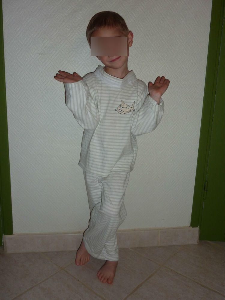 Un pyjama pour Mr A