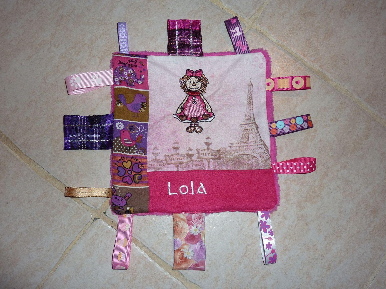 Le doudou de Miss Lola