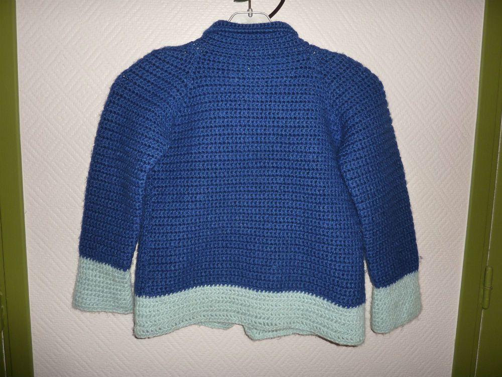 Rallonge de veste au tricot