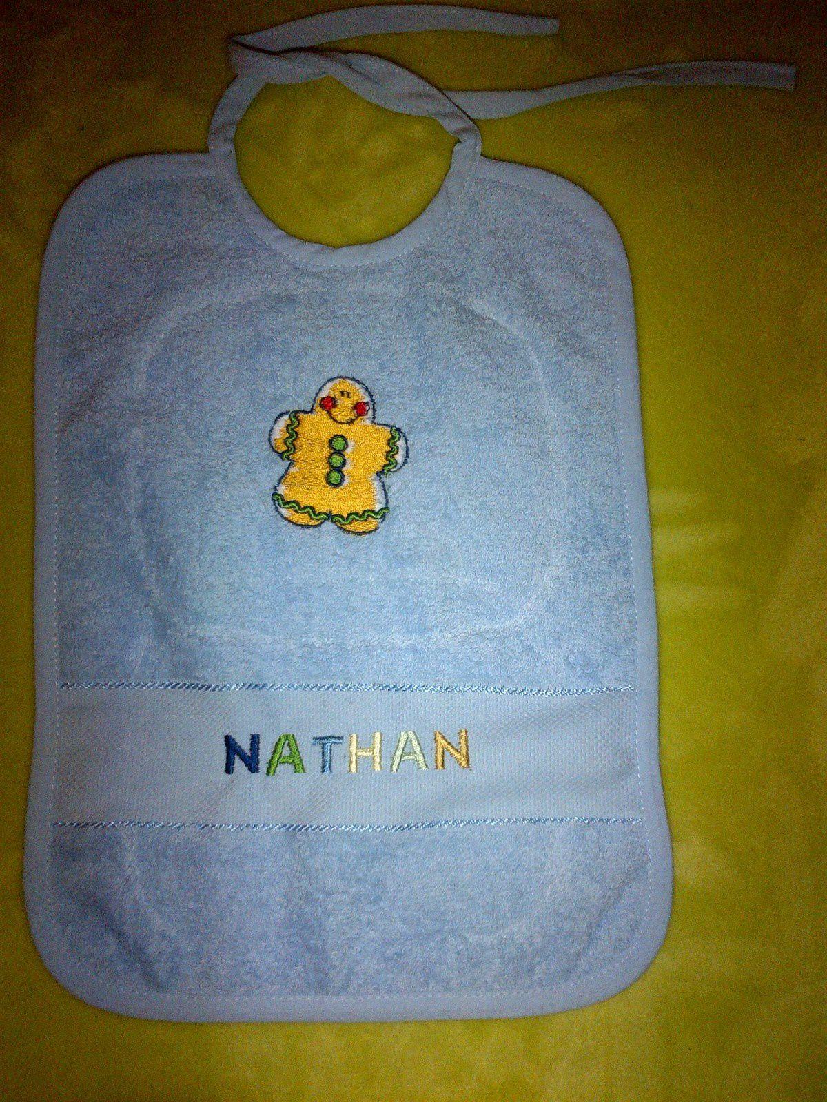 Un bavoir pour Nathan