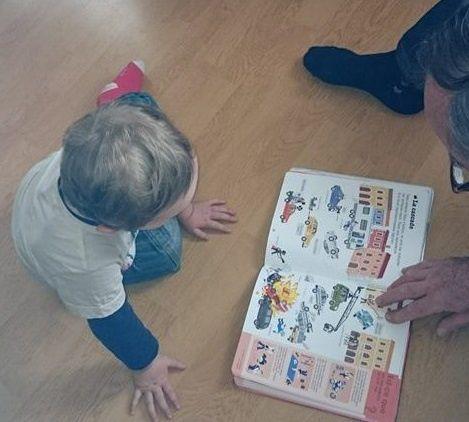 Bébé et les Livres ... Le Défi Fou #16