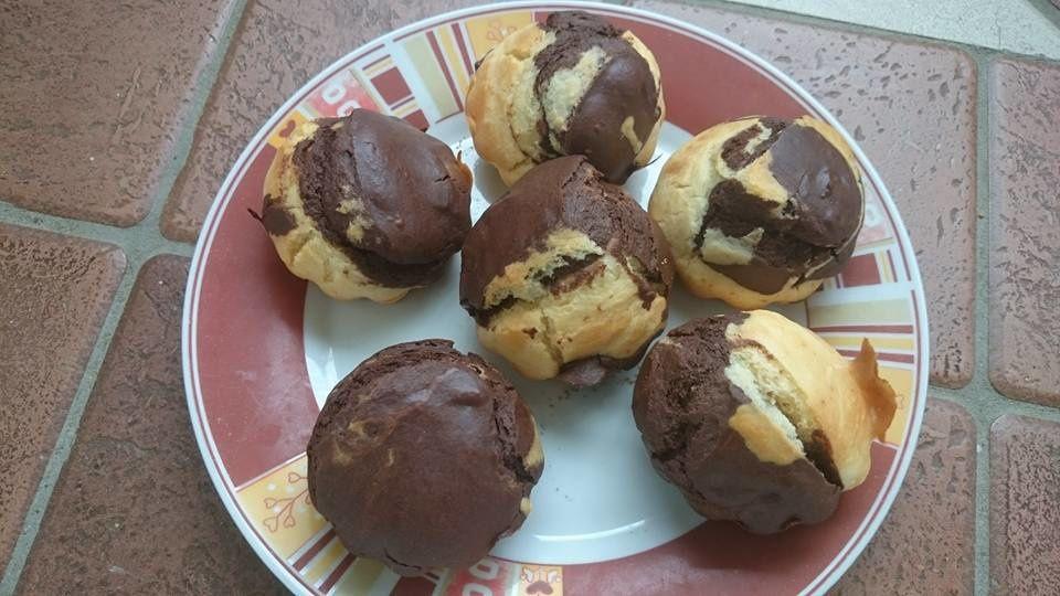Recette des gâteaux au yaourt tigrés