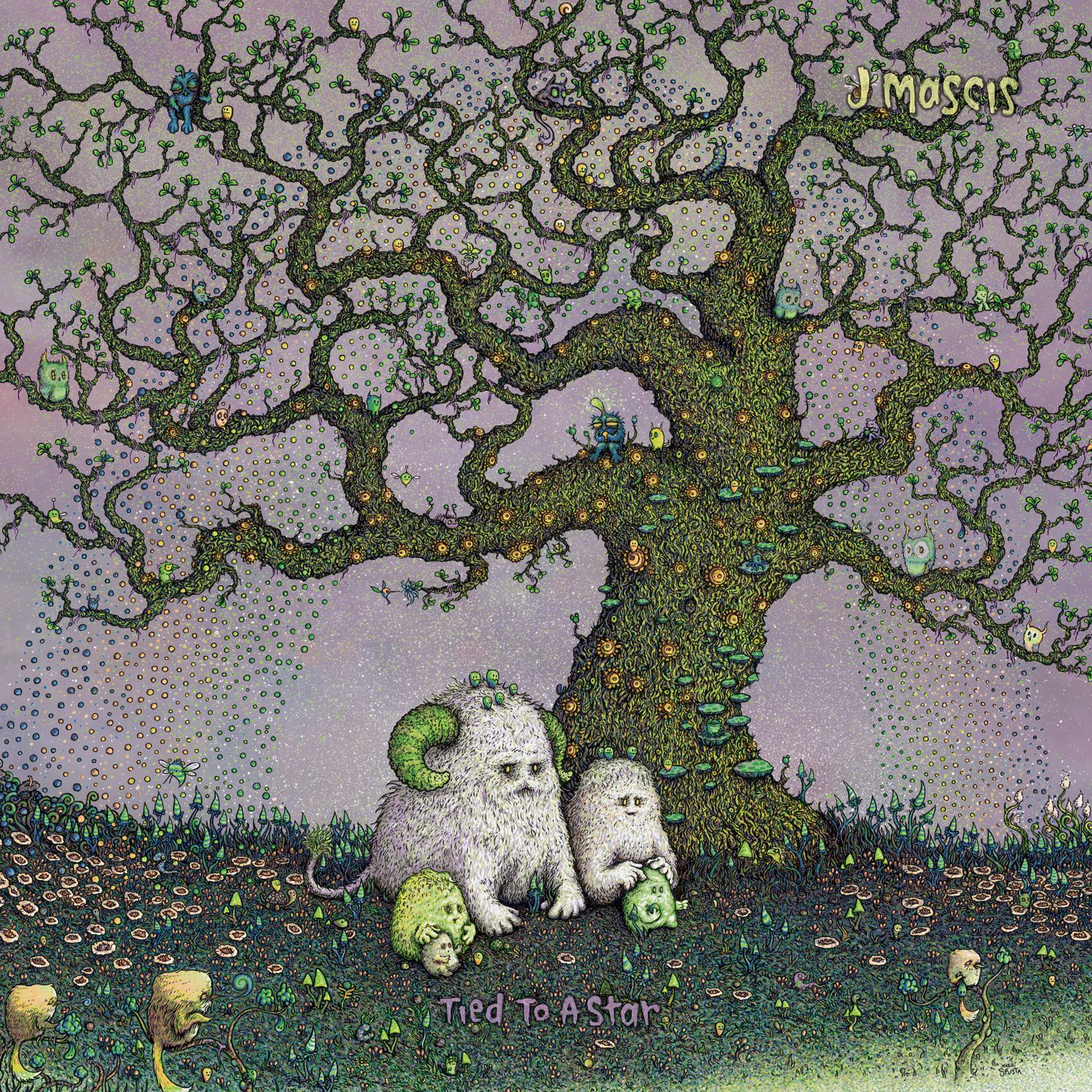 J MASCIS - Tied to a star (2014)