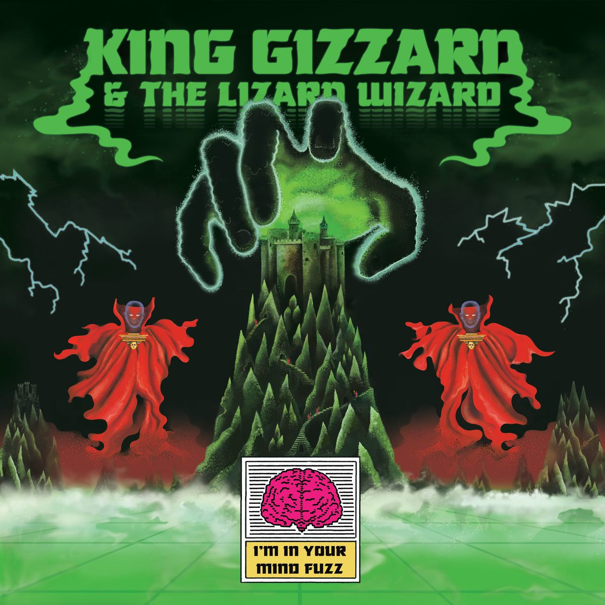 KING GIZZARD AND THE LIZARD WIZARD - I'm in your mind Fuzz (2014)