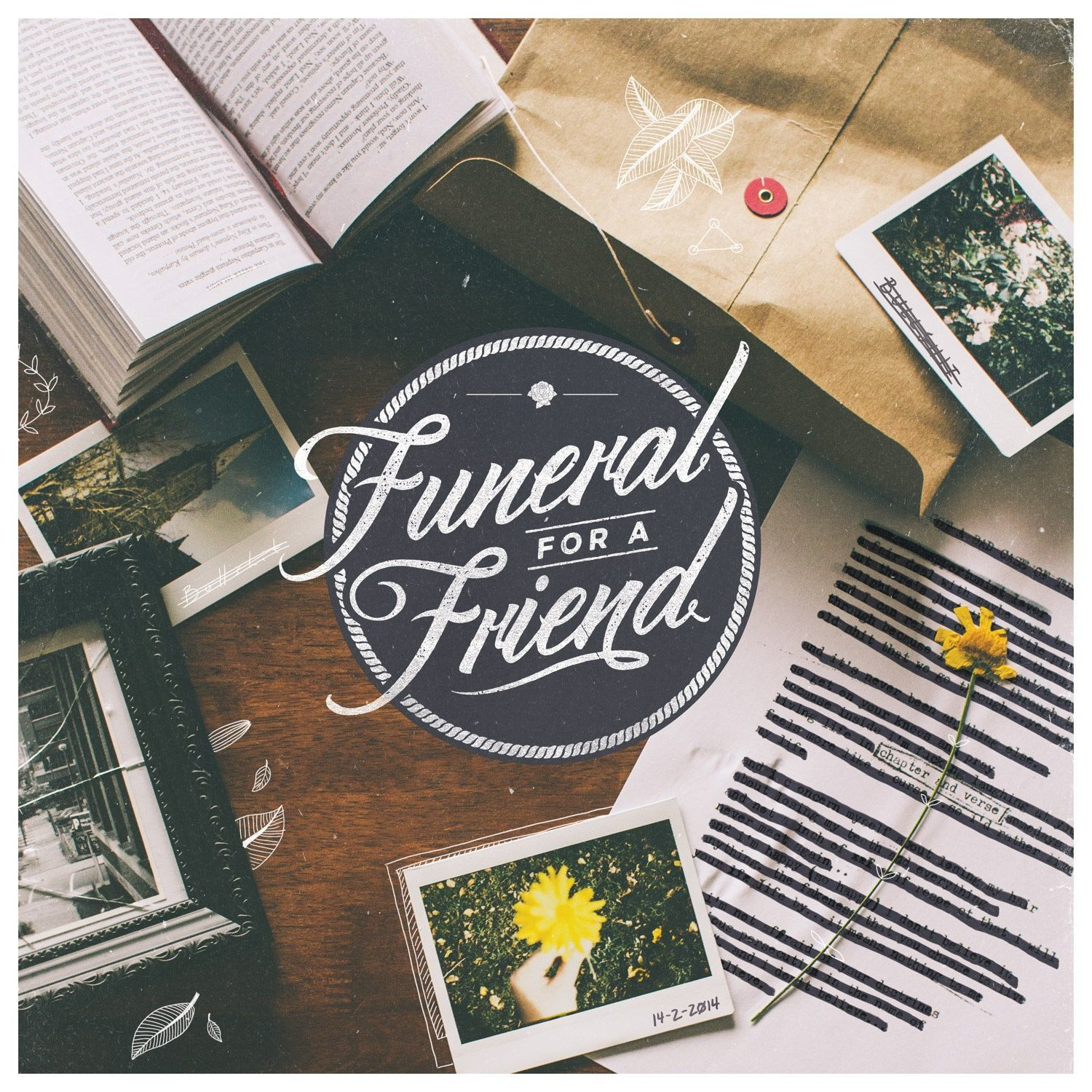 FUNERAL FOR A FRIEND - Chapter and verse (2015)