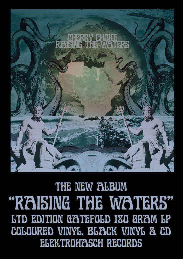 CHERRY CHOKE - Raising the waters (2015)